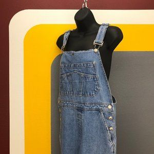 Womens '90s vintage GAP baggy overalls